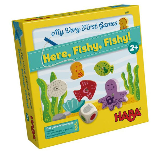 Here Fishy Fishy - My Very First Games - Haba - Tiny Paper Co. Afterpay Toy Store Australia