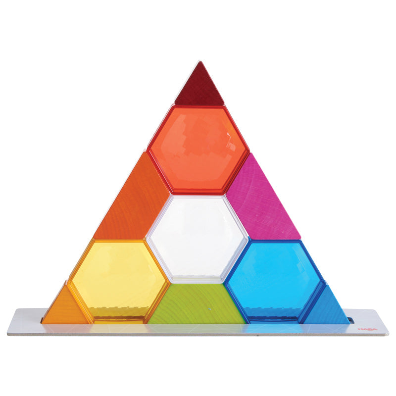 Haba Stacking Game Colour Crystals - Haba - Tiny Paper Co. Afterpay Toy Store Australia