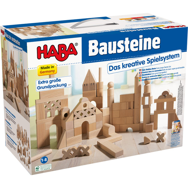Haba Building Block XL Starter Set 1077 - Haba - Tiny Paper Co. Afterpay Toy Store Australia