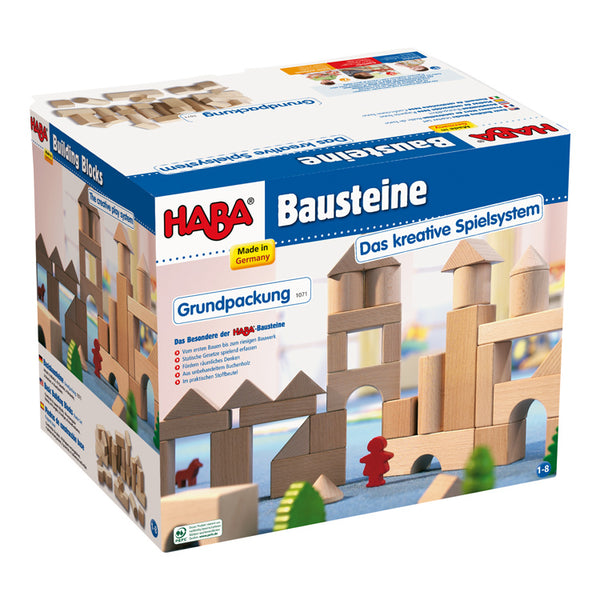 Natural Building Blocks Starter Set 1071 - Haba - Tiny Paper Co. Afterpay Toy Store Australia