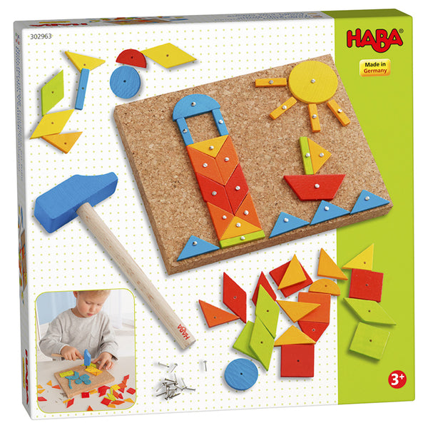 Tack Zap Geometric - Haba - Tiny Paper Co. Afterpay Toy Store Australia