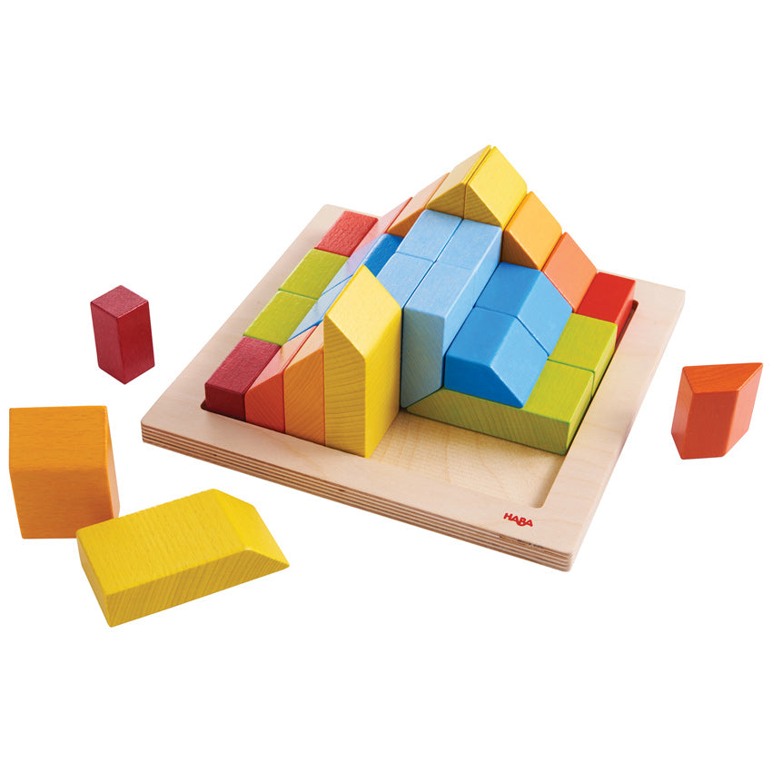 Haba 3D Creative Wooden Blocks - Haba - Tiny Paper Co. Afterpay Toy Store Australia