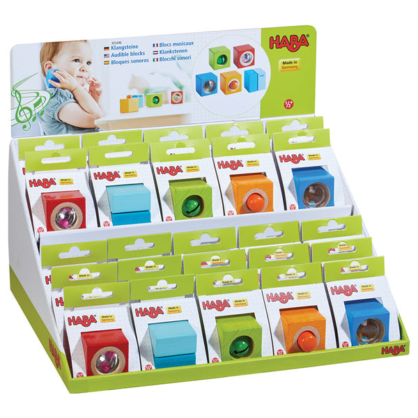 Sound Blocks - Haba - Tiny Paper Co. Afterpay Toy Store Australia
