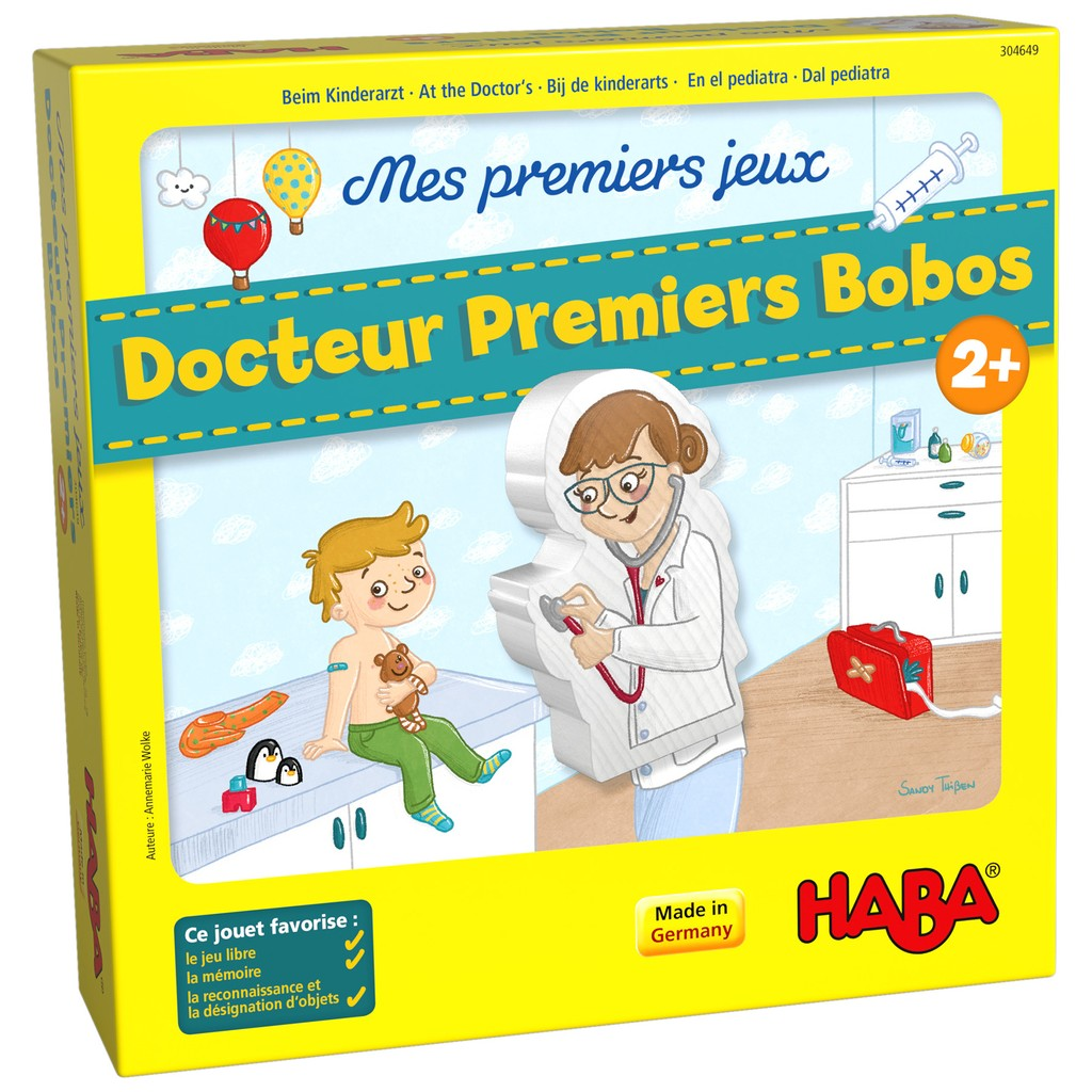 At The Doctor - My Very First Games - Haba - Tiny Paper Co. Afterpay Toy Store Australia