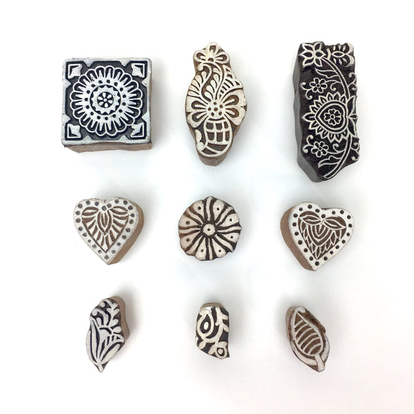 Hand Crafted Wooden Stamp - Various Size - Tiny Paper Co. - Tiny Paper Co. Afterpay Toy Store Australia