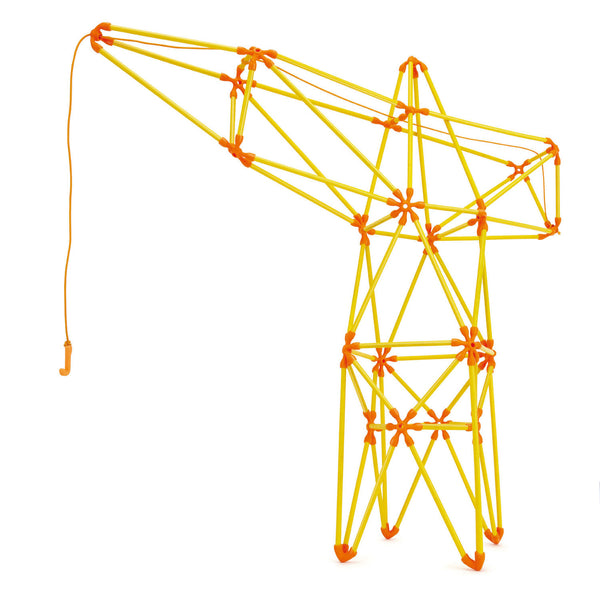 Hape Flexistix Truss Crane - Hape - Tiny Paper Co. Afterpay Toy Store Australia