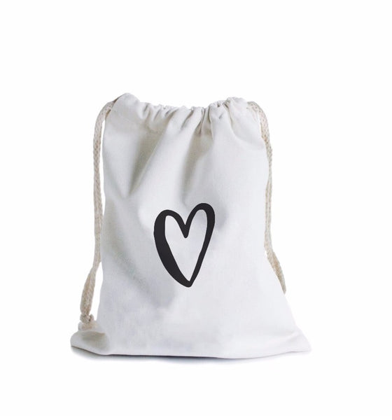 Reusable Canvas Gift Wrapping Bag - Available in 2 designs - In The Daylight - Tiny Paper Co. Afterpay Toy Store Australia
