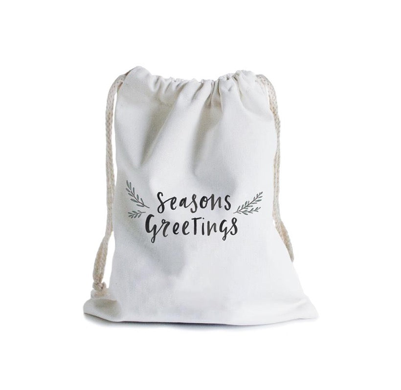 Christmas Gift Bag - Santa's Sack - In The Daylight - Tiny Paper Co. Afterpay Toy Store Australia