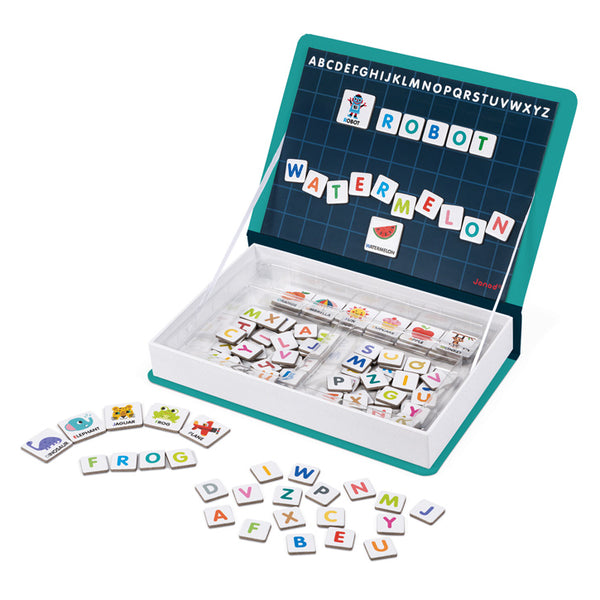 Alphabet Magnetibook - Janod - Tiny Paper Co. Afterpay Toy Store Australia