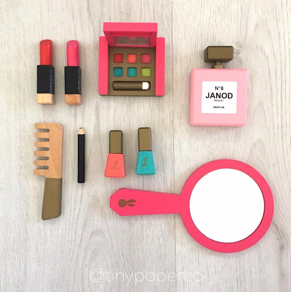 Little Miss Vanity Case - Janod - Janod - Tiny Paper Co. Afterpay Toy Store Australia