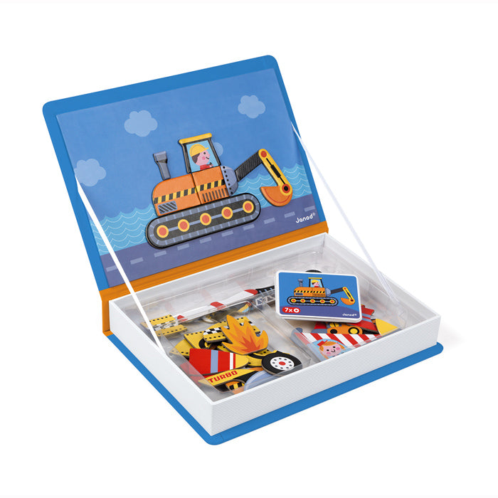 Racers Magnetibook - Janod - Tiny Paper Co. Afterpay Toy Store Australia