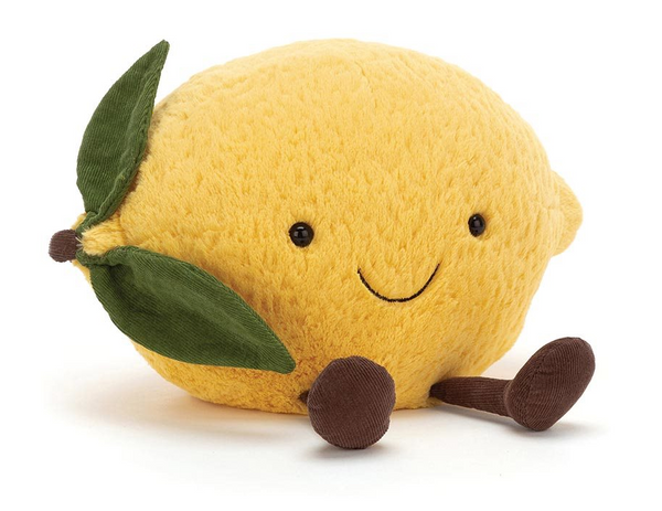 Amuseable Lemon - Jellycat - Tiny Paper Co. Afterpay Toy Store Australia