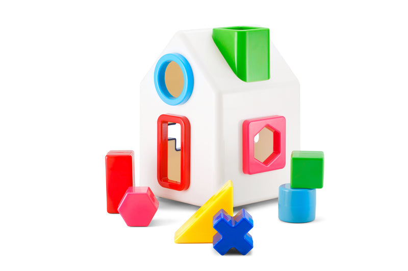 Sort A Shape House by Kid O - Kid O - Tiny Paper Co. Afterpay Toy Store Australia