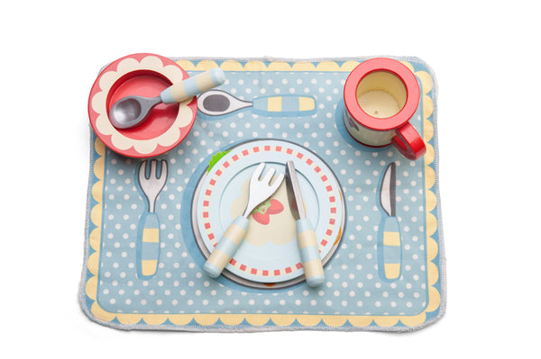 Dinner Set - Le Toy Van - Tiny Paper Co. Afterpay Toy Store Australia