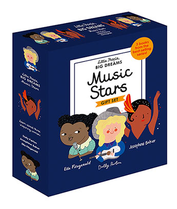 Little People Big Dreams | Music Stars - Tiny Paper Co. - Tiny Paper Co. Afterpay Toy Store Australia