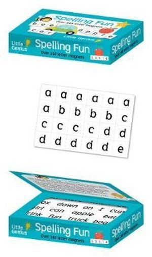 Spelling Fun - Magnetic Alphabet - Little Genius - Tiny Paper Co. Afterpay Toy Store Australia