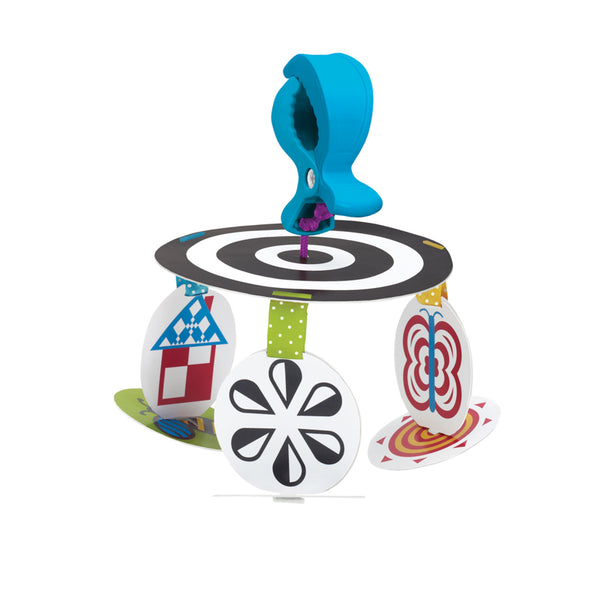 Infant Stim-Mobile To Go - Manhattan Toy - Tiny Paper Co. Afterpay Toy Store Australia