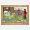 Magic Painting World - Tiger Tribe - Tiny Paper Co. Afterpay Toy Store Australia