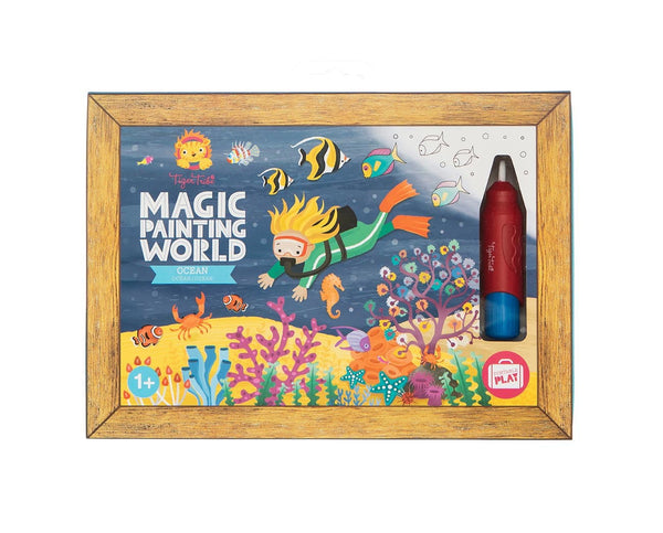 Magic Painting World - Various themes - Tiger Tribe - Tiny Paper Co. Afterpay Toy Store Australia
