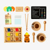Natural Tea Set Extension - Make Me Iconic - Tiny Paper Co. Afterpay Toy Store Australia