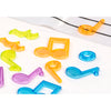 Aptitude Translucent Activity Musical Notes & Pentagram - Miniland - Tiny Paper Co. Afterpay Toy Store Australia