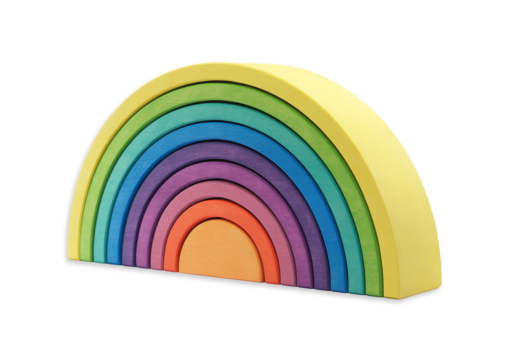 Ocamora Rainbows 9pc - Large | ETA End of Sept Limited Preorder - Ocamora - Tiny Paper Co. Afterpay Toy Store Australia
