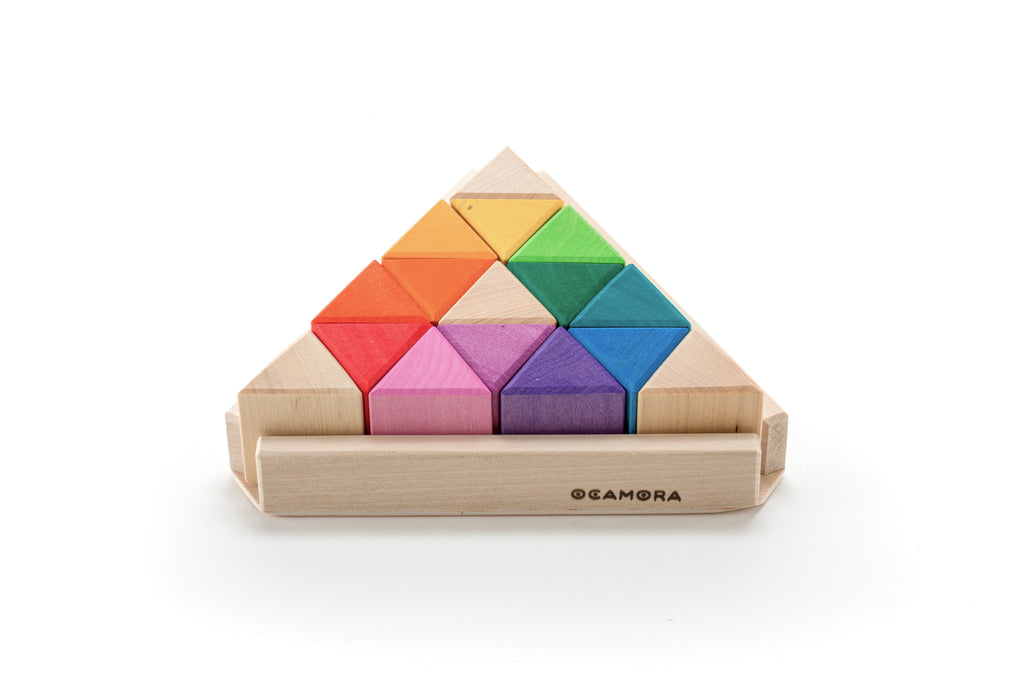 Ocamora Triangular Prisms - Ocamora - Tiny Paper Co. Afterpay Toy Store Australia
