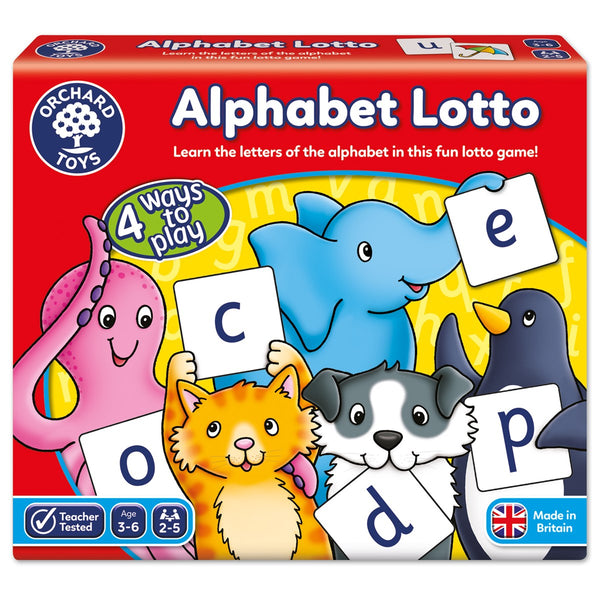 Alphabet Lotto Game - Orchard Toys - Tiny Paper Co. Afterpay Toy Store Australia