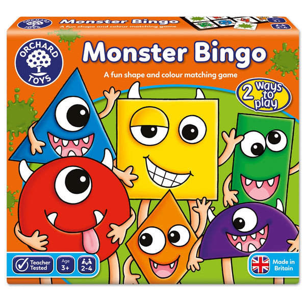 Monster Bingo Game - Orchard Toys - Tiny Paper Co. Afterpay Toy Store Australia