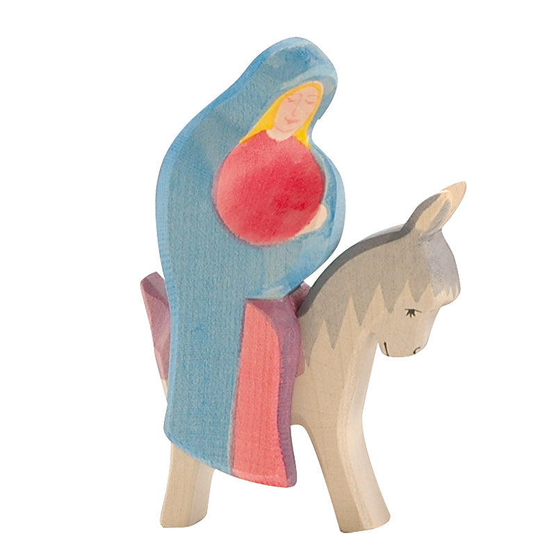 Ostheimer Mary on Donkey - Ostheimer - Tiny Paper Co. Afterpay Toy Store Australia