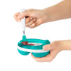 Feeding Spoon (Pink and Teal) - Oxo Tot - Tiny Paper Co. Afterpay Toy Store Australia