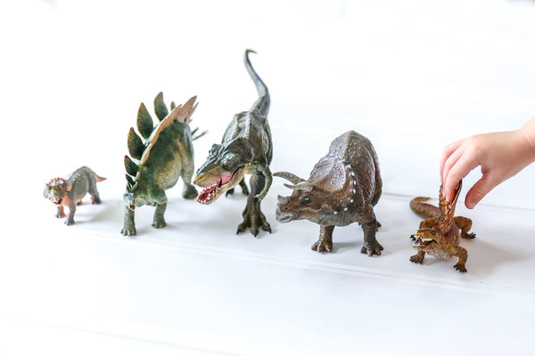 Prehistoric Dinosaur Figurines - Papo - Tiny Paper Co. Afterpay Toy Store Australia