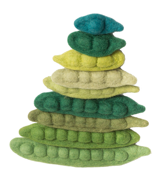 Papoose Toys Felt Bean Counters - Papoose Toys - Tiny Paper Co. Afterpay Toy Store Australia