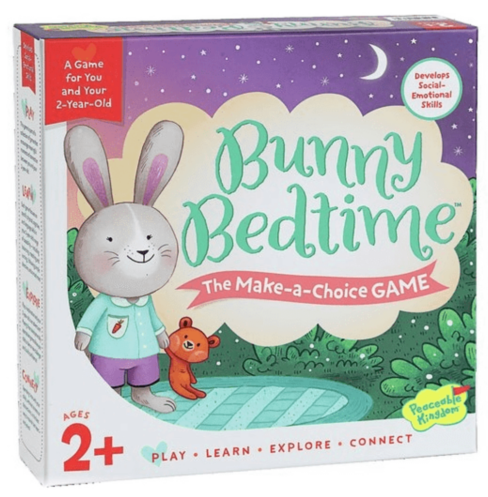 Bunny Bedtime - Peaceable Kingdom - Tiny Paper Co. Afterpay Toy Store Australia