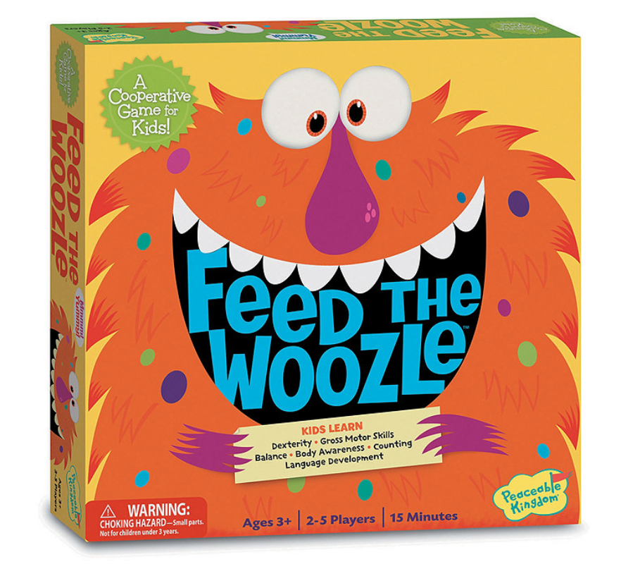 Feed The Woozle - Peaceable Kingdom - Tiny Paper Co. Afterpay Toy Store Australia