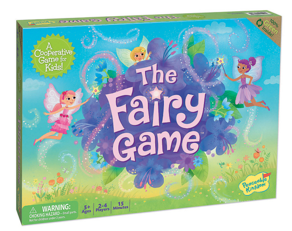 The Fairy Game - Cooperative Game - Peaceable Kingdom - Tiny Paper Co. Afterpay Toy Store Australia