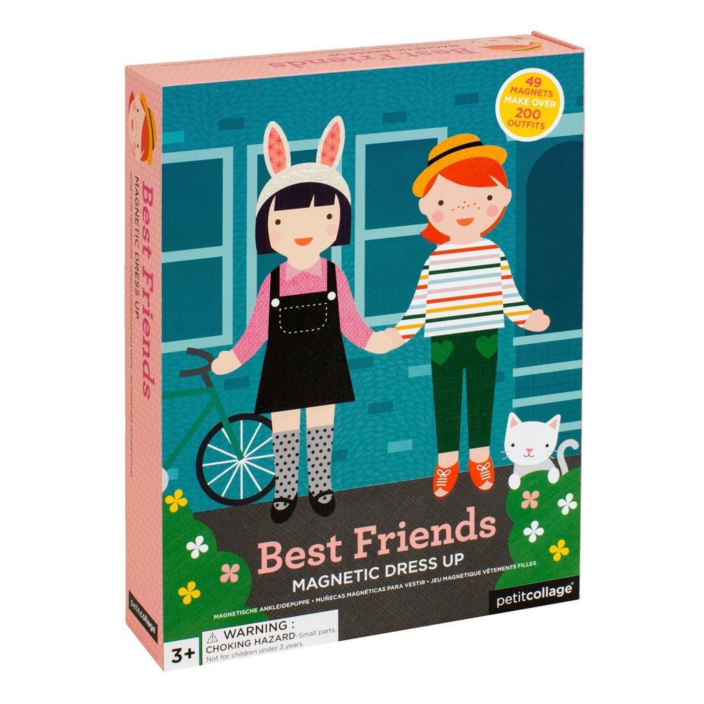 Best Friends Magnetic Dress Up - Petit Collage - Tiny Paper Co. Afterpay Toy Store Australia