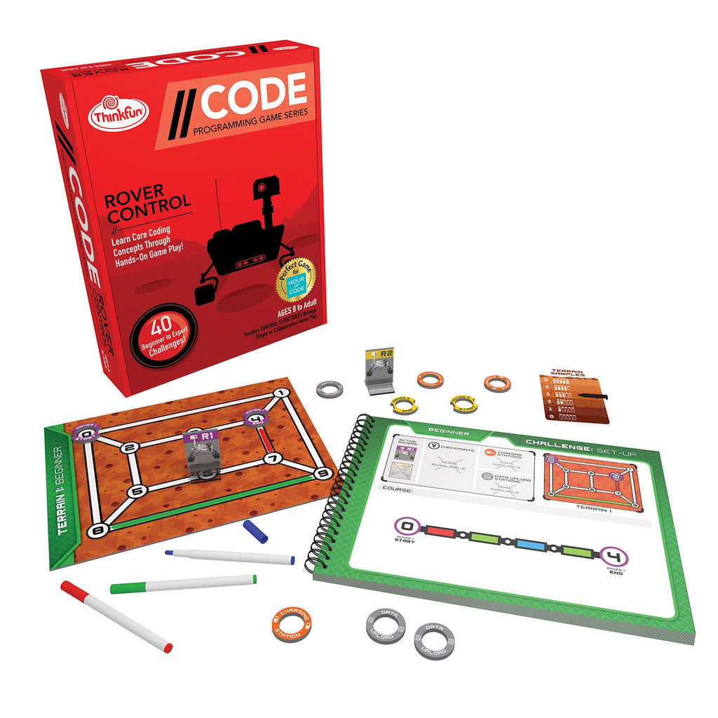On The Brink Coding Games - Think Fun - Tiny Paper Co. Afterpay Toy Store Australia