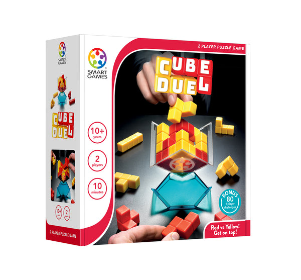 Cube Duel Puzzle - Smart Games - Tiny Paper Co. Afterpay Toy Store Australia