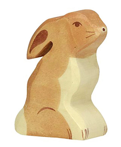 Holztiger Hare Sitting - Holztiger - Tiny Paper Co. Afterpay Toy Store Australia