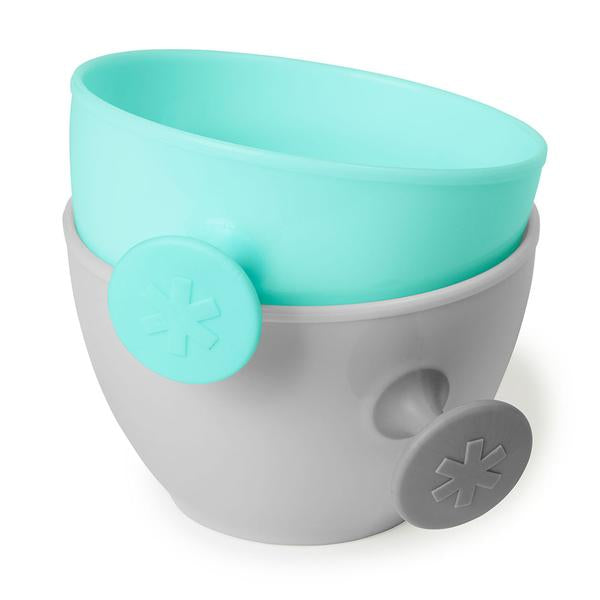 Easy Grab Bowl Teal and Grey - Skip Hop - Tiny Paper Co. Afterpay Toy Store Australia