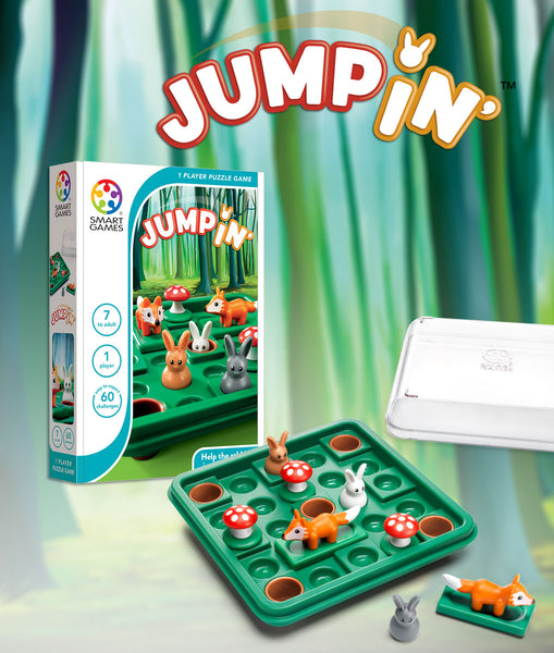 Jumpin' Games - Smart Games - Tiny Paper Co. Afterpay Toy Store Australia