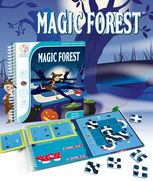 Magic Forest Magnetic Travel Games - Smart Games - Tiny Paper Co. Afterpay Toy Store Australia