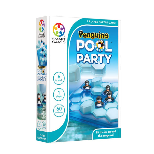 Penguins Pool Party - Smart Games - Tiny Paper Co. Afterpay Toy Store Australia