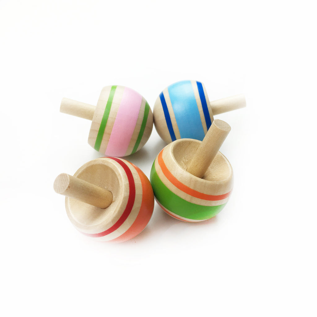 Spinning Tops - Tiny Paper Co. - Tiny Paper Co. Afterpay Toy Store Australia