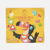 Sticker Pics - Crazy Animals - Tiger Tribe - Tiny Paper Co. Afterpay Toy Store Australia