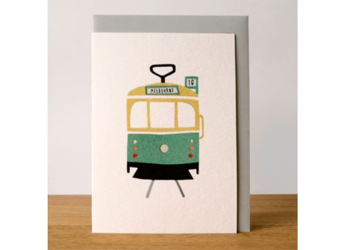 Sunday Paper Greeting Card - Melbourne - Sunday Paper - Tiny Paper Co. Afterpay Toy Store Australia