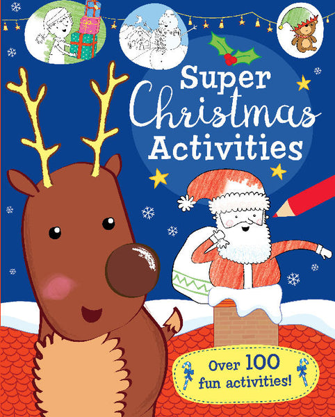Super Christmas Activity Book - Tiny Paper Co. - Tiny Paper Co. Afterpay Toy Store Australia