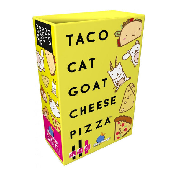 Taco Cat Goat Cheese Pizza - Blue Orange - Tiny Paper Co. Afterpay Toy Store Australia