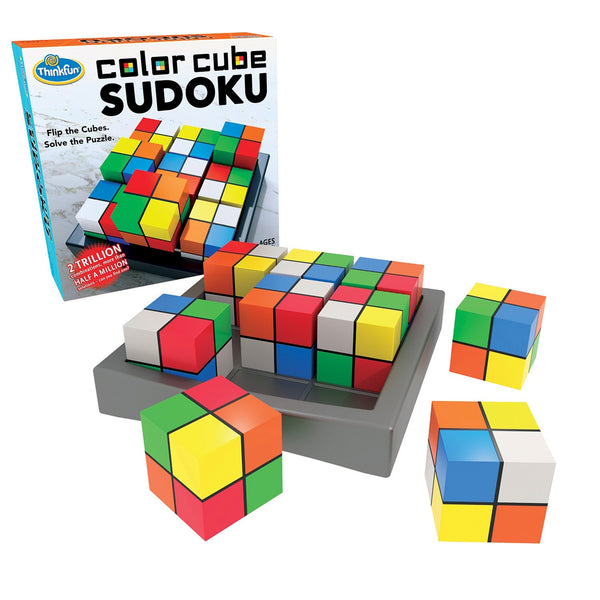 Color Cube Sudoku - Think Fun - Tiny Paper Co. Afterpay Toy Store Australia